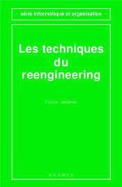 Les Techniques Du Reengineering (Serie Informatique Et Organisation) - Couverture - Format classique