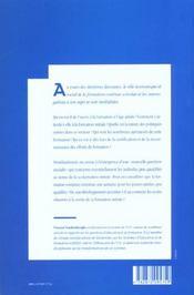 Formation Professionnelle Continue Transformations Contraint Es Et Enjeux - 4ème de couverture - Format classique
