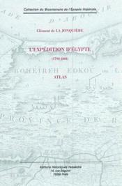 L'expédition d'Egypte ; atlas - Couverture - Format classique