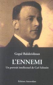 Ennemi,Un Portrait Intellectuel De Carl Schmitt - Intérieur - Format classique
