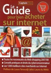 Le guide pour bien acheter sur internet - Couverture - Format classique
