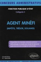 Agent MINEFI ; impôts, trésor, douane - Intérieur - Format classique