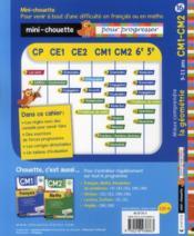 Mieux comprendre la géométrie ; CM1, CM2 - 4ème de couverture - Format classique