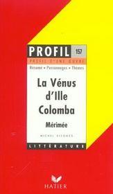 La Vénus d'Ille ; Colomba, de Mérimée - Intérieur - Format classique