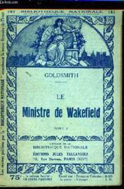 Le Ministre De Wakefield - Tome 1. - Couverture - Format classique