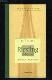 Riesling Alsace - Couverture - Format classique