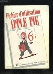 Apple Pie 6e Fichier D'Utilisation - Couverture - Format classique