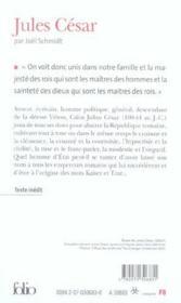 Jules cesar - Couverture - Format classique