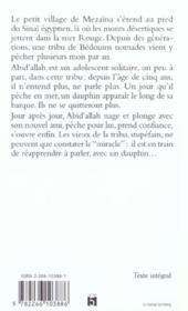 Le Sourire Du Dauphin - 4ème de couverture - Format classique