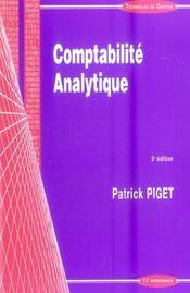 Comptabilite analytique (5e edition) - Intérieur - Format classique
