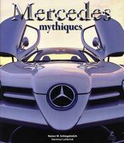 Mercédès mythiques - Intérieur - Format classique