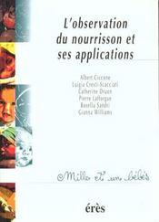 L'observation du nourrisson et ses applications - Intérieur - Format classique