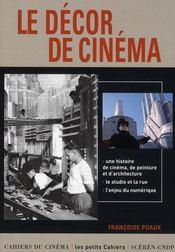Le décor au cinéma - Intérieur - Format classique
