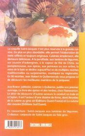 La cuisine des coquilles saint-jacques/poche - 4ème de couverture - Format classique