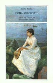 Dona Quichotte - Intérieur - Format classique
