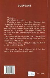 Ouergane - 4ème de couverture - Format classique