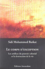 Corps d'exception (le) - Intérieur - Format classique