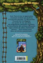 Les carnets de la cabane magique T.6 ; vivre à l'âge de glace - 4ème de couverture - Format classique