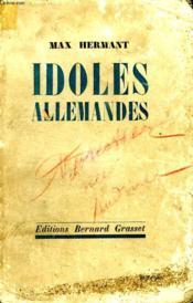 Idoles Allemandes. - Couverture - Format classique