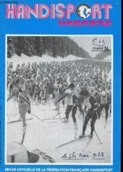HANDISPORT MAGAZINE 23e ANNEE N°41 - Couverture - Format classique