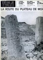 Bible Et Terre Sainte N°85 : La Route Du Plateau De Moab - Couverture - Format classique