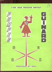 Pompes Guinard Fascicule 1. L'Eau Sous Pression Partout - Couverture - Format classique