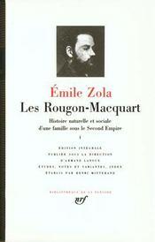 Les Rougon-Macquart, histoire naturelle et sociale d'une famille sous le Second Empire t.1 - Intérieur - Format classique