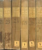 Oeuvres Completes De J. J. Rousseau, Tomes Xx, Xxiii, Xxiv, Xxv, Xxvi, Xvii, Correspondance (6 Tomes) - Couverture - Format classique