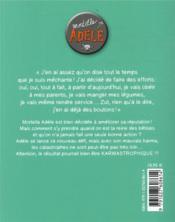 Mortelle Adèle T.17 ; karmastrophique ! - 4ème de couverture - Format classique