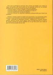 Le Grand Livre De La Recherche D'Emploi - 4ème de couverture - Format classique