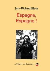 Espagne espagne - Couverture - Format classique