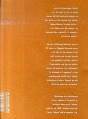 Les couilles d'adam ; sur une fresque de masaccio - 4ème de couverture - Format classique