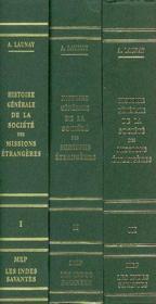 Histoire Generale De La Societe Des Missions Etrangeres 3 Volumes - Couverture - Format classique