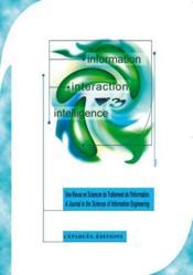 Information-interaction-intelligence t.1 - Couverture - Format classique