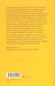 Les Cygnes Sauvages A Coole - 4ème de couverture - Format classique