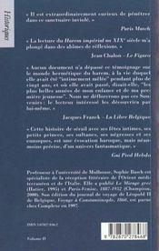 Le harem imperial aux xixeme siecle - 4ème de couverture - Format classique