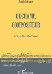 Duchamp, compositeur - Couverture - Format classique