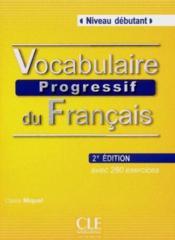 telecharger Vocabulaire progressif du francais – niveau debutant livre PDF en ligne gratuit