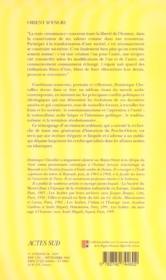 Orient d' encre - entre guerres et pouvoirs - 4ème de couverture - Format classique