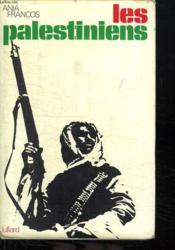 Les Palestiniens. - Couverture - Format classique