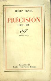 Precision (1930-1937). - Couverture - Format classique
