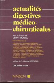 Actualités digestives médico-chirurgicales - Couverture - Format classique