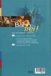 Bahn Frei Terminale Lv1 Lv2 Livre De L'Eleve - 4ème de couverture - Format classique