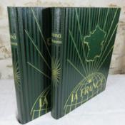 La France. Géographie en deux volumes. - Couverture - Format classique