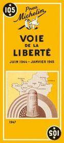 Carte routiere 105 voie de la liberte - Intérieur - Format classique