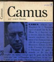 Albert Camus Ou Le Vrai Promethee - Collection Philiosophes De Tous Les Temps N°28 - Couverture - Format classique