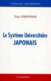 Systeme Universitaire Japonais (Le) - Couverture - Format classique