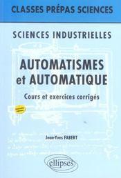 Sciences Industrielles ; Automatismes Et Automatique - Intérieur - Format classique
