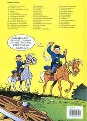 Les tuniques bleues t.41 ; les bleus en cavale - 4ème de couverture - Format classique