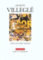 Jacques Villegle - Couverture - Format classique